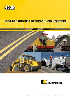 Road Construction Drums and Block Systems 2015