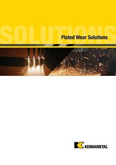 KMT Plated Wear Solutions Brochure 2015