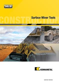 Surface Miner Tools 2015