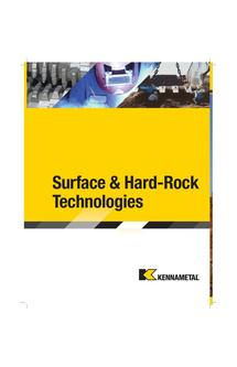 Surface and Hard Rock Technologies 2015