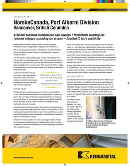 Norske Canada Success Story 2015