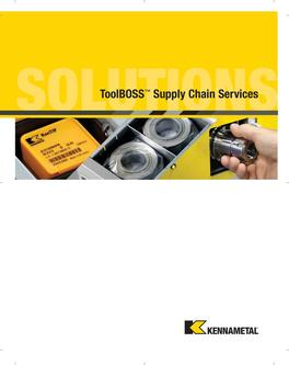 ToolBoss Supply Chain Services 2015