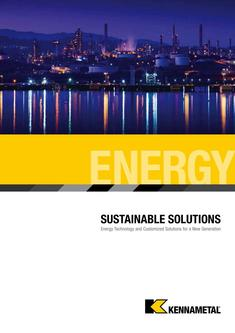 Sustainable Solutions Energy Catalog, Inch 2018