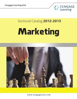 CLA Sectional Catalog 2012-2013 Marketing