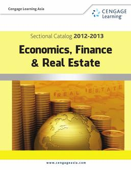 CLA Sectional Catalog 2012-2013_Economics, Finance & Real Estate