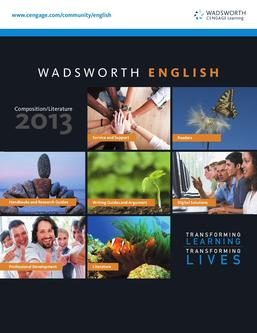 Wadsworth English Composition/Literature 2013