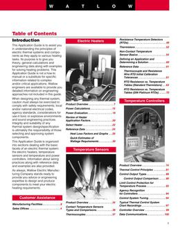 Thermal Component Reference Guide