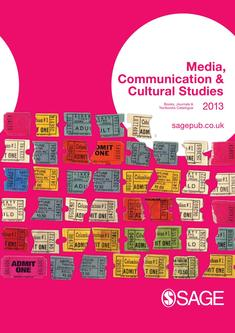 Media, Communication & Cultural Studies 2013