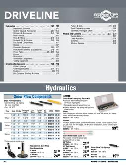 Driveline Catalogue 277 Fall & Winter 2011