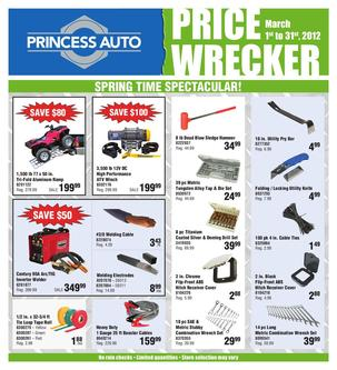 Price Wrecker March 2012