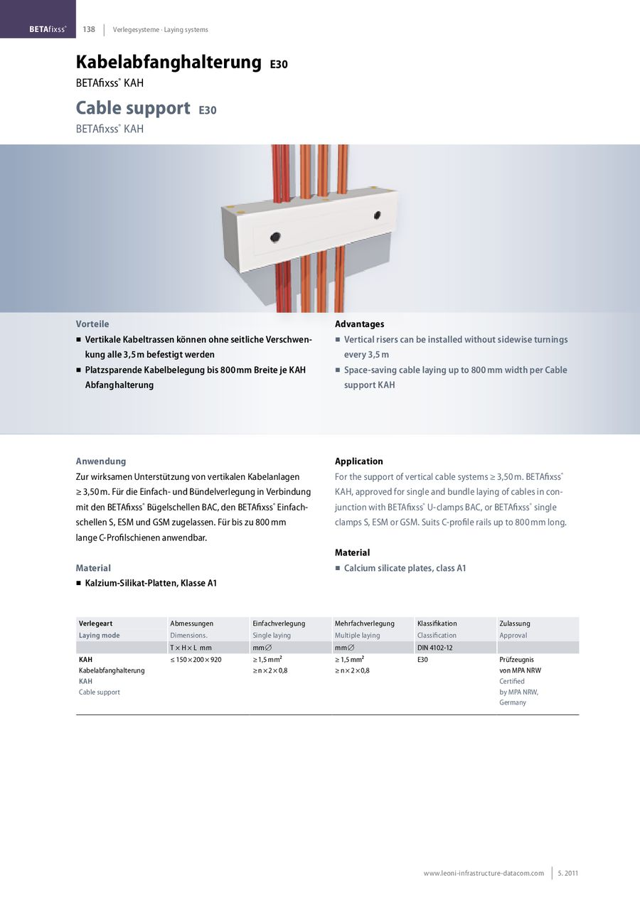 Page Of Safety Cables And Laying Systems - Platten verlegearten