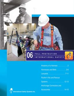 Catalogue: International Safety Systems Inc. Fall Protection