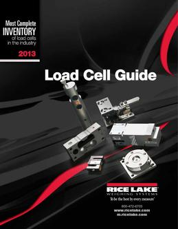 Load Cell Guide 2013