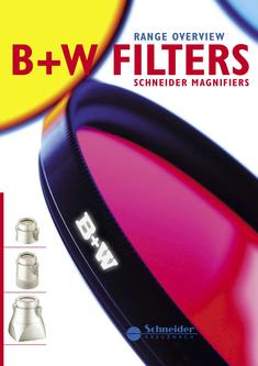 B+W Filter Product overview