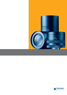 C-Mount lenses for visible and near infrared
