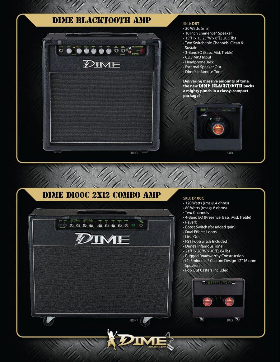 Dime AMP 2011 by Dean Guitars