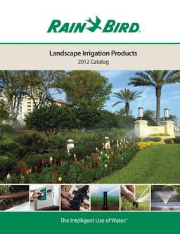 2012 Landscape Irrigation Products