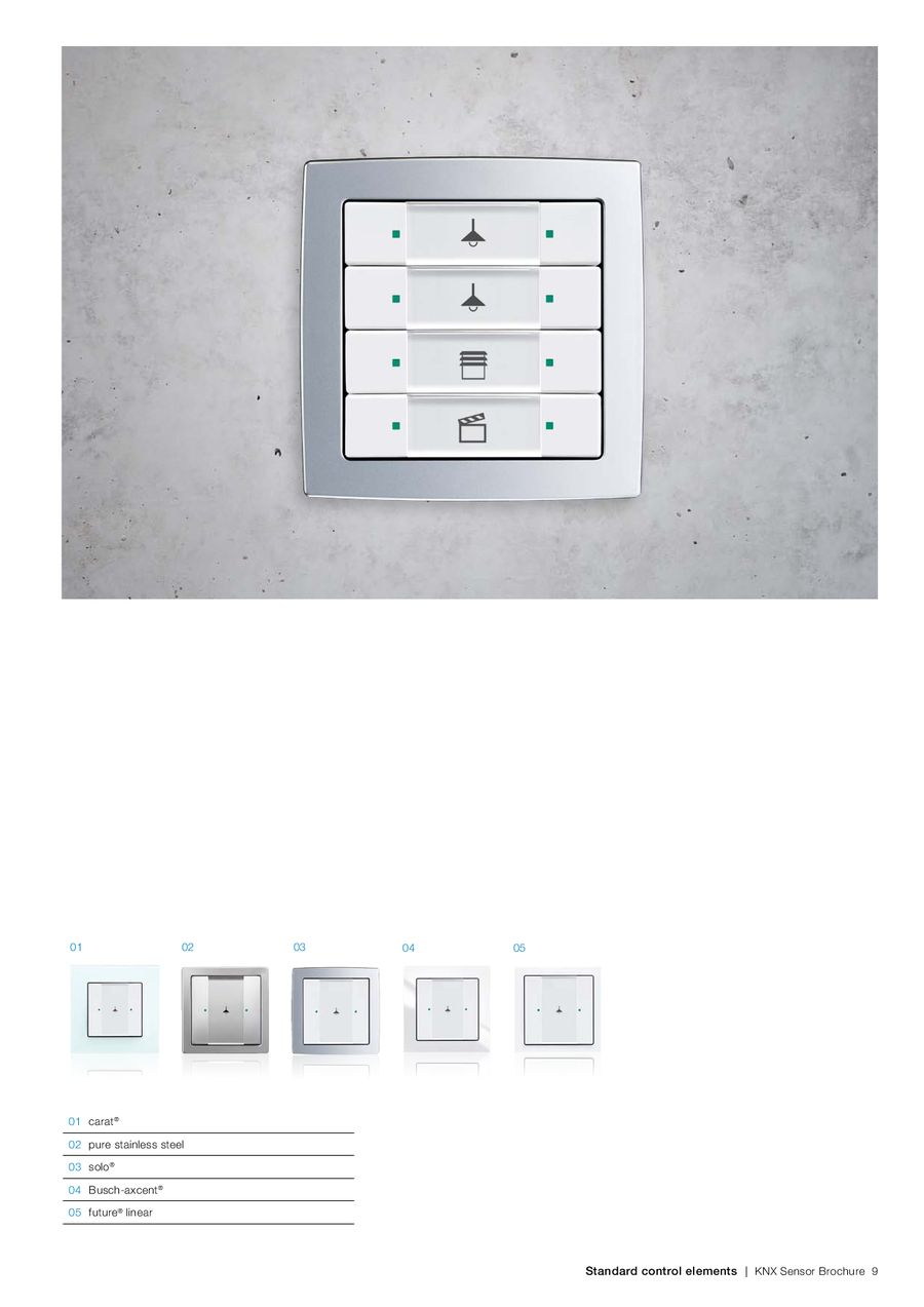 Page 6 of KNX sensors ABB i-bus®