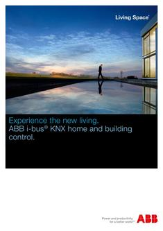 KNX home and building control