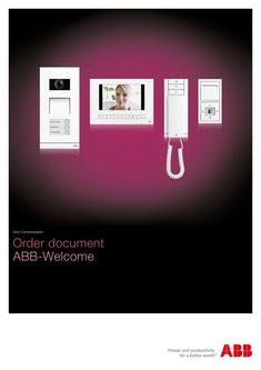 ABB-Welcome order paper