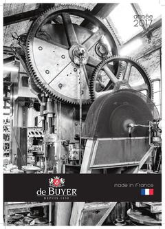2017 Catalogue for Professionals (French)