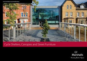 Cycle Shelters Canopies and Street Furniture 2016