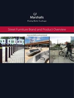 Street Furniture Brand and Product Overview 2016