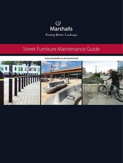 Marshalls Street Furniture Maintenance Guide 2016