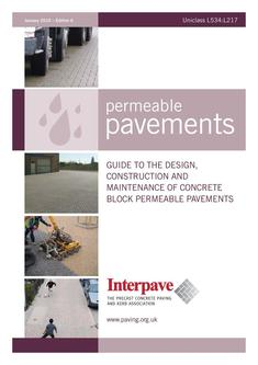 Interpave Permeable Pavements Edition 6 2016