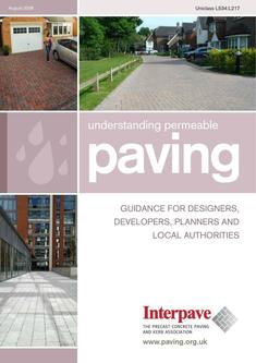 Interpave Understanding Permeable Paving 2016