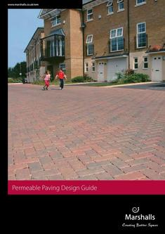 Permeable Paving Design Guide 2016