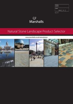 Natural Stone Landscape Product Selector 2016