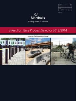 Street Furniture Product Selector 2016