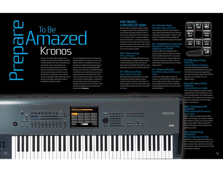 Page 12 of Korg Proview General Catalogue March 2012