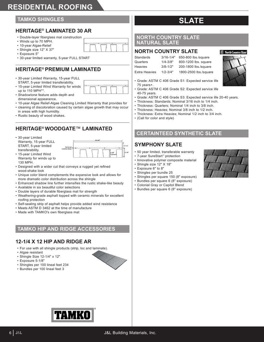 Page 8 of Roofing, and Insulation & Housewrap 2012