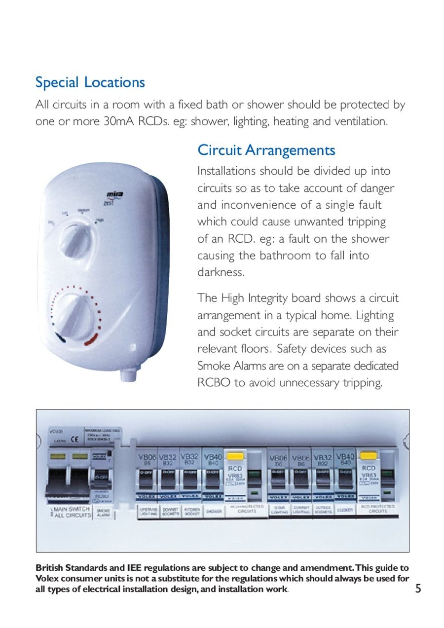 Volex Accessories Circuit Protection And The 17th Edition By Electrium Shower Rcd Wiring Diagram Electric An P 1 16