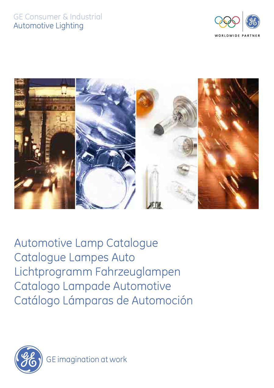 Ge Automotive Lighting Catalogue Lighting Ideas