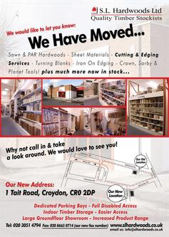 We've Moved Flyer