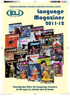 ELI Magazines Catalogue 2011/2012