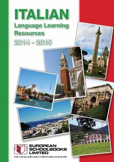 Italian Language Learning Latest Titles 2016