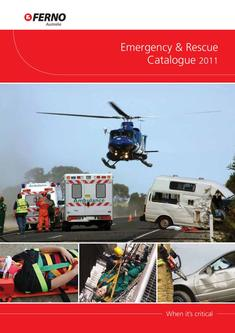 Ferno Emergency and Rescue Catalogue
