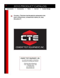 Cement Test Equipment