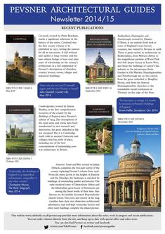 Pevsner newsletter 2014/15