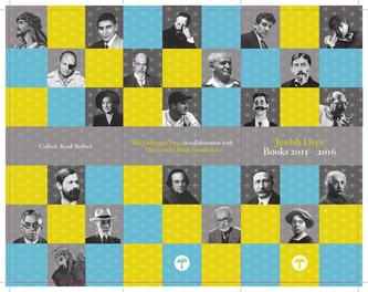 Jewish Lives Books 2015 – 2016