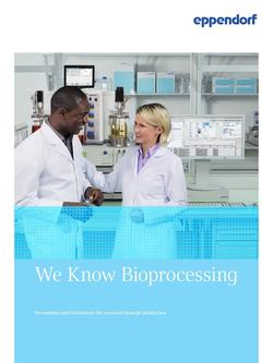 We Know Bioprocessing 2017