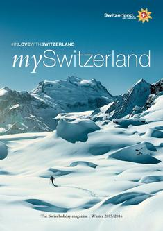 The Swiss holiday magazine . Winter 2015/2016