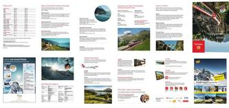 Swiss Travel Map 2016 (Overseas)