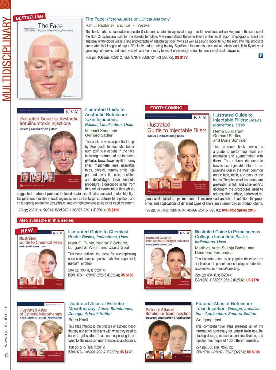 illustrated atlas of esthetic mesotherapy active substances dosage administration