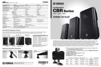 CBR Series Speakers 2017