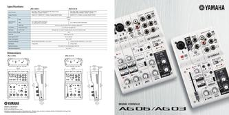 AG Series Mixers 2017